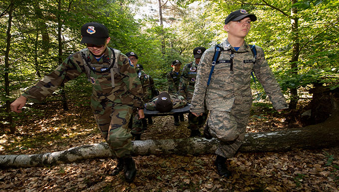 CAP cadets tackle week of challenges