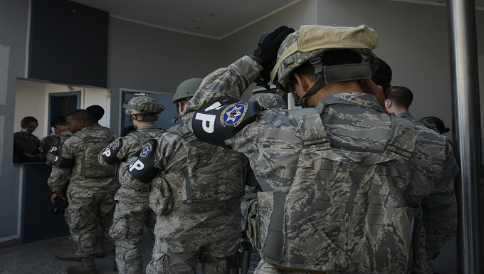569th Airmen conduct active shooter response training